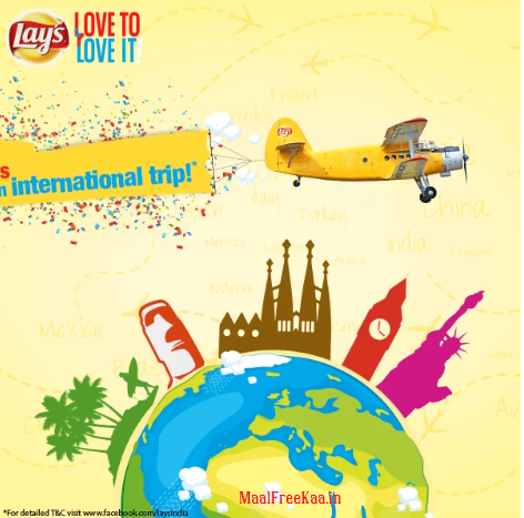 Contest !! Buy your Lay's Promo Pack Win Trip Weekly USA, England