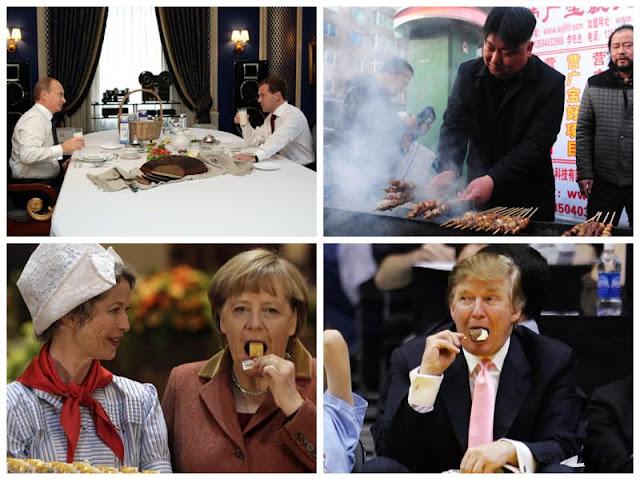 الطعام المفضل عند زعماء الدول العظمى ...مالذي يهواه ترامب ؟