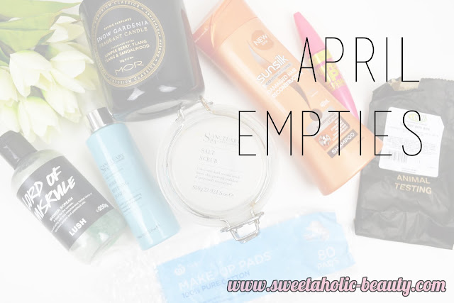April Empties - Sweetaholic Beauty