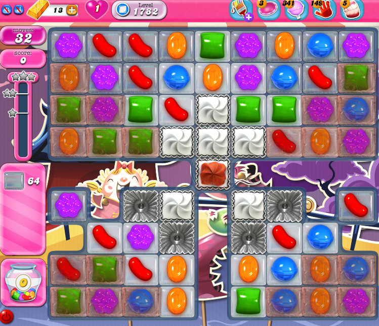Candy Crush Saga 1782