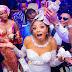 Oritsefemi Sprays His Wife, Nabila Fash Dollars At Their White Wedding