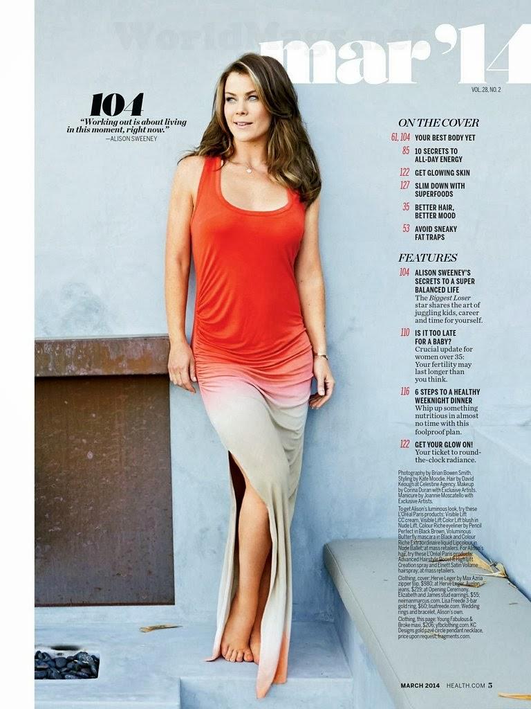 Alison Sweeney HQ Pictures Health US Magazine Photoshoot ...