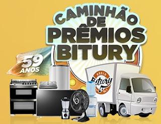 Cadastrar Promoção Rádio Bitury FM Caminhão de Prêmios Aniversário 59 Anos
