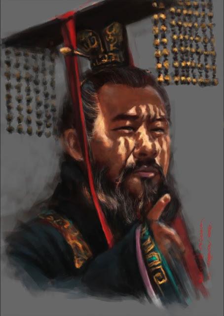 ภาพวาด โจโฉ - สามก๊ก Digital Painting
