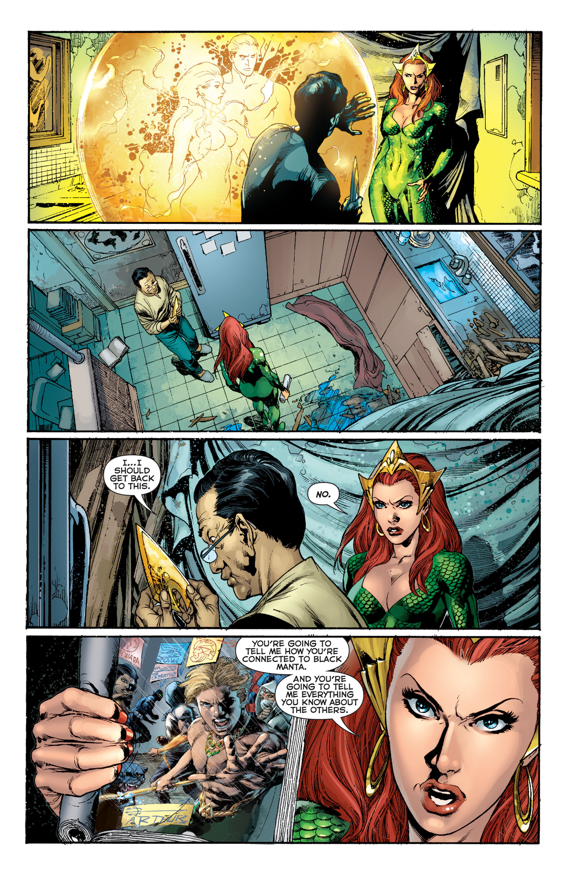 Read online Aquaman (2011) comic -  Issue #8 - 13