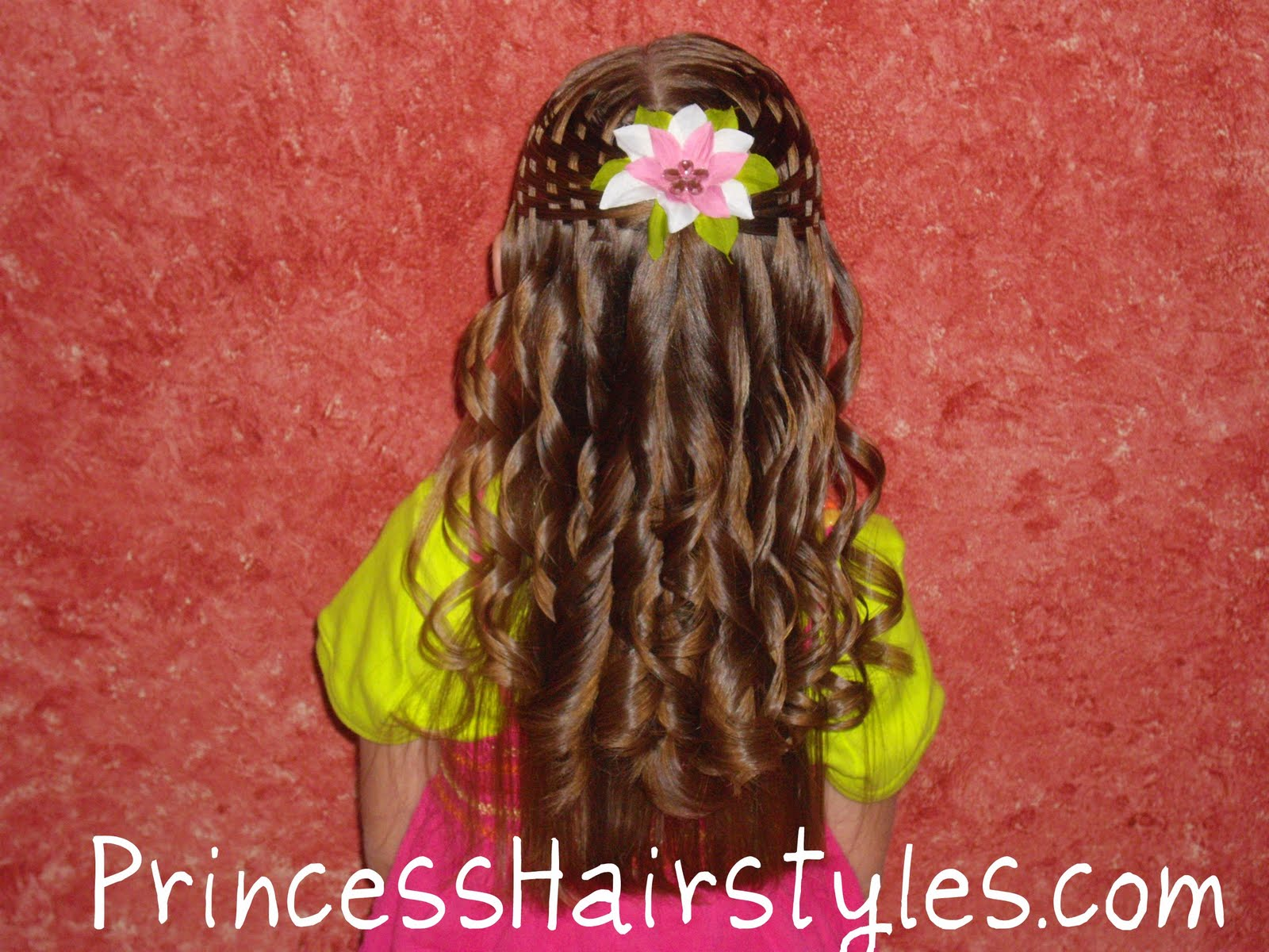 Curling Iron Ringlets Hairstyles For Girls Princess