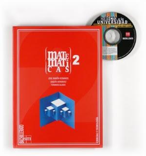 Libro Matemáticas 2º Bachillerato SM