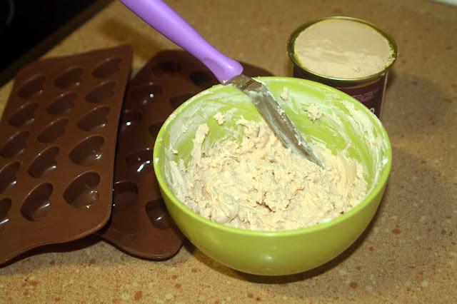 bombón de foie alocados en la cocina