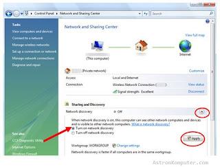 UPnP Windows Vista