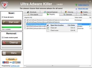 Ultra Adware Killer 7.5.2.1