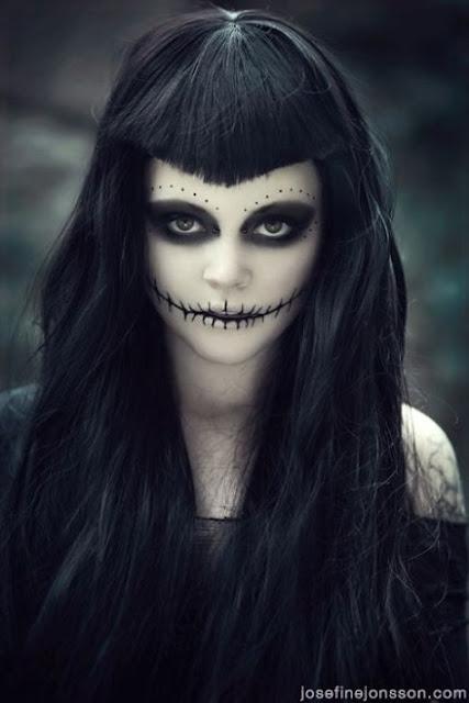 maquillaje halloween muerte