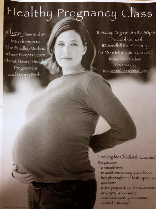 Healthy Pregnancy Classes - Simsburry / Farmington Connecticut