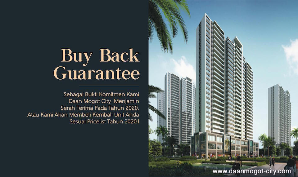 Buy Back Guarantee DAMOCI Apartment