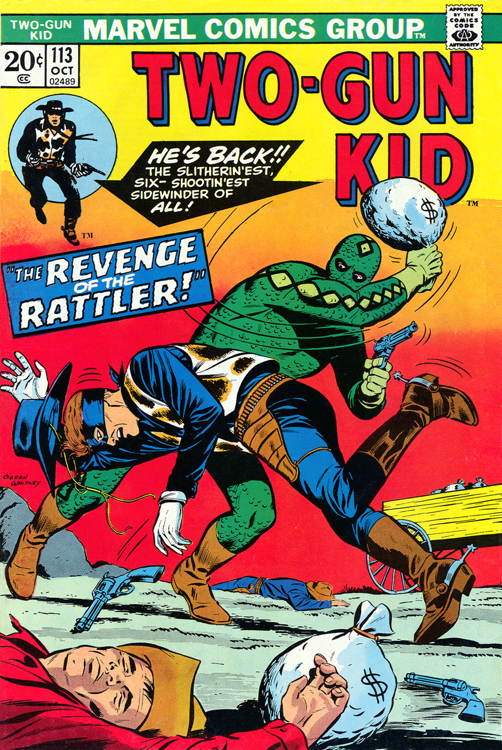 Read online Two-Gun Kid comic -  Issue #113 - 1
