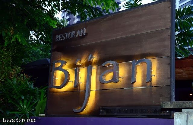 Bijan Bar & Restaurant Fine Malay Cuisine