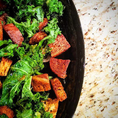 Gingerbread Croutons