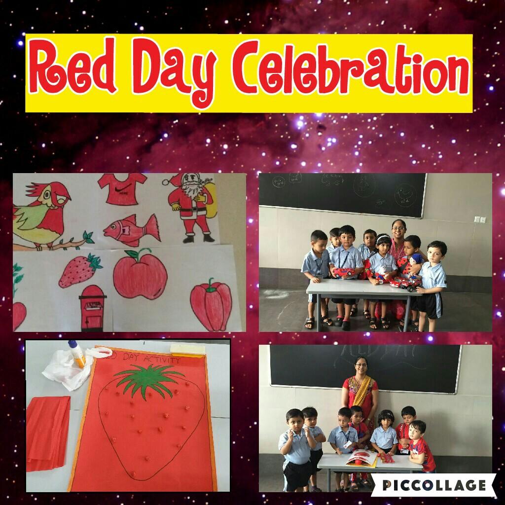 The Rustomjee Cambridge (Thane) Diaries: Nursery - Red Day