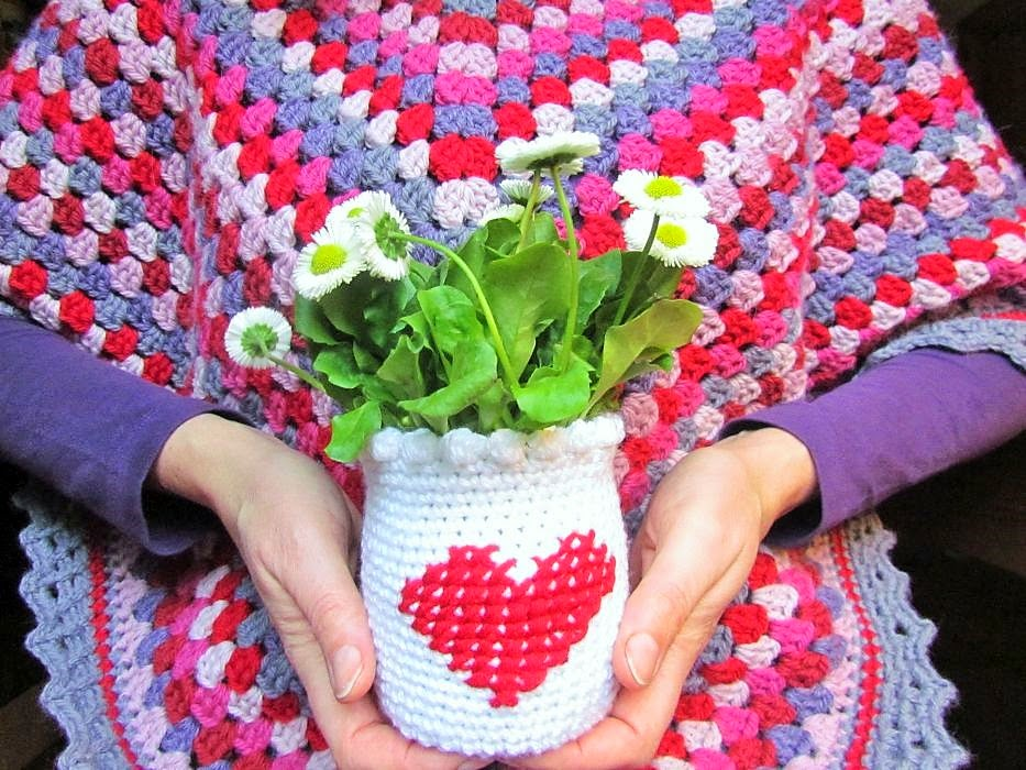 Colour Crochet Love A Cheer For A Warm And Cosy Poncho