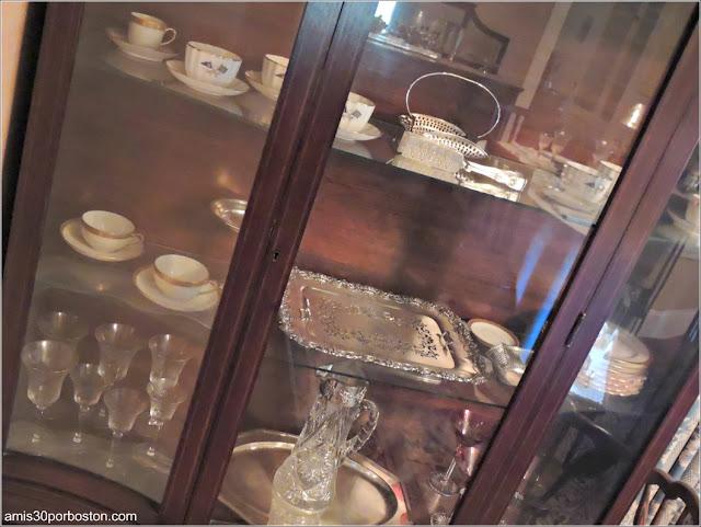 Casa de Nacimiento de Jonh F. Kennedy: Vajilla y Cristalería