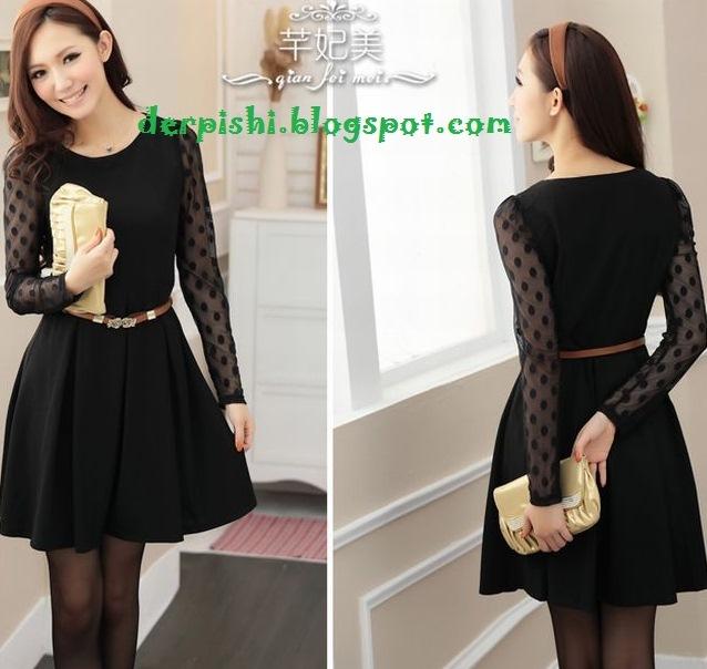 Dress Korea Baju Korean