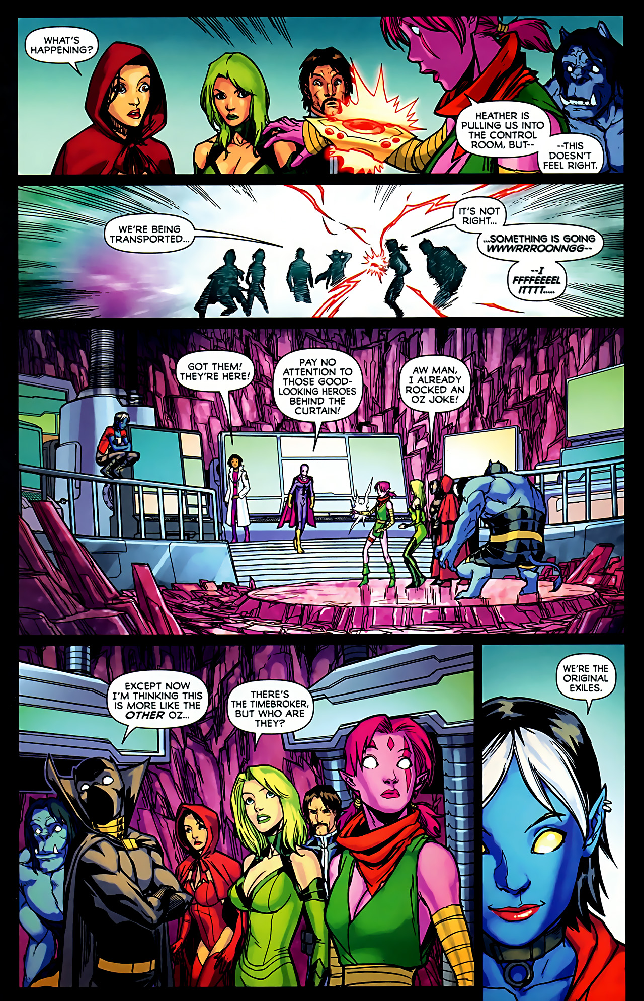 Read online Exiles (2009) comic -  Issue #6 - 25