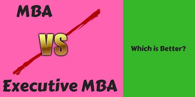 MBA vs Executive MBA