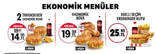 kfc menü fiyat ve kampanyalar fırsatlar