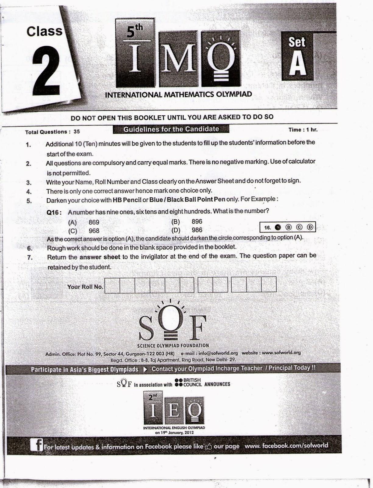 Preparations for IPM, MTSE, Olympiad, MAT, Scholarship,CBSE