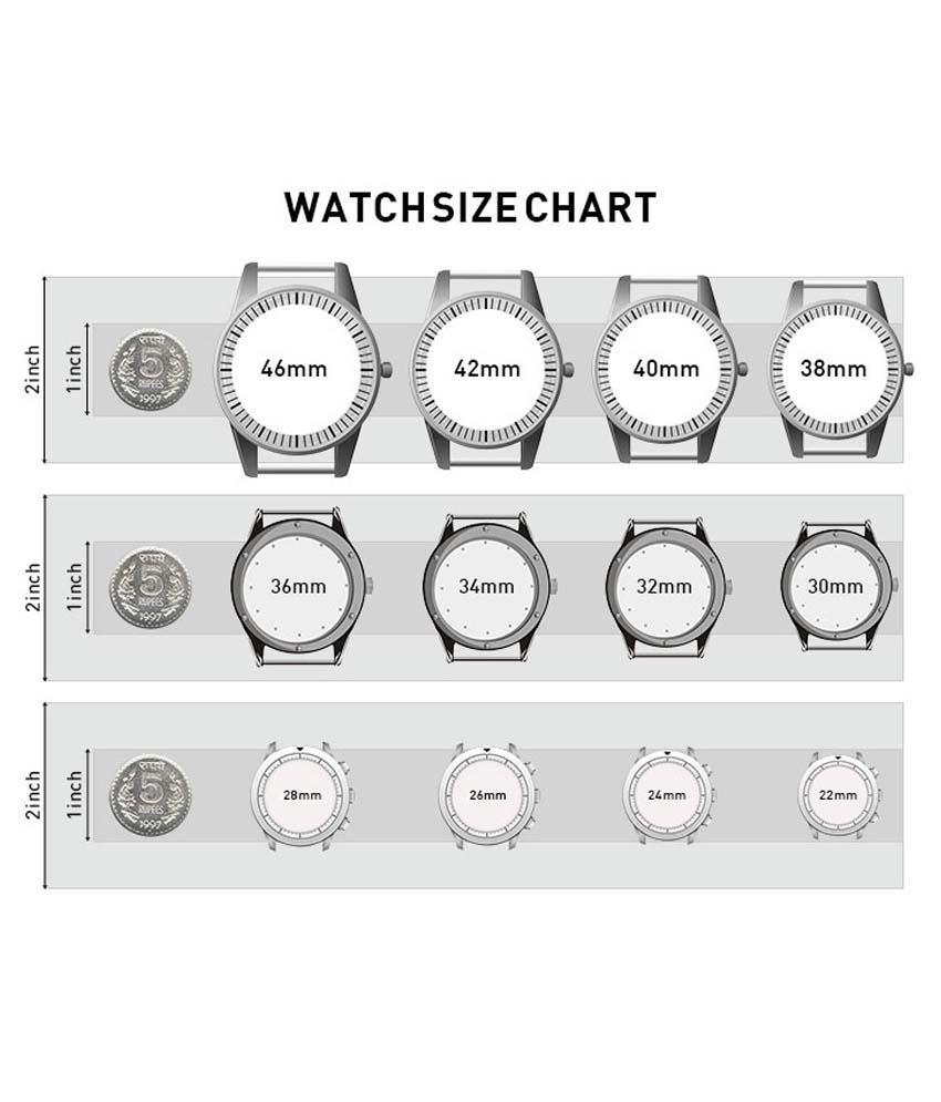 Tipchowk: WATCH SIZE CHART
