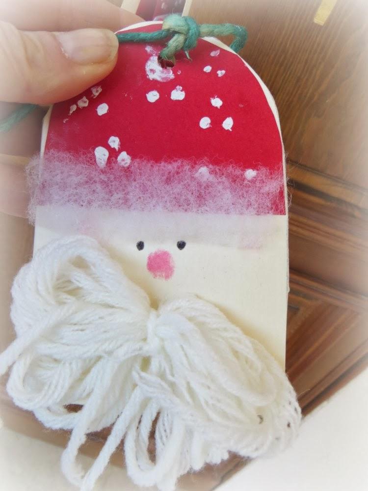 Lavoretti Di Natale Classe Seconda.Le Cose Di Lola Babbo Natale Lavoretto Di Natale