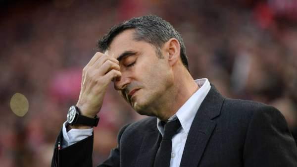 ثلاثة مرشحين لتدريب برشلونة خلفا لفالفيردي