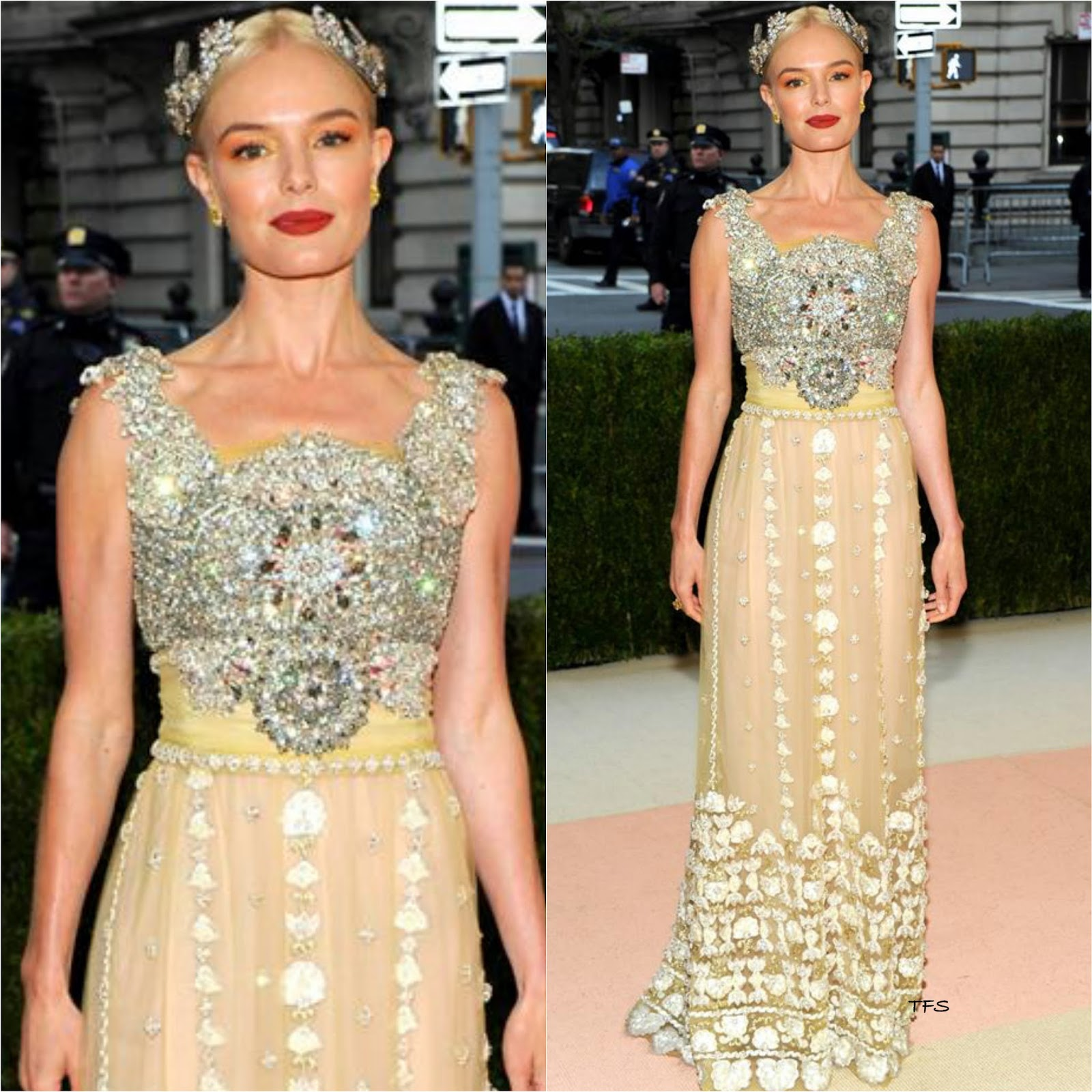 027118d1b689 Kate Bosworth in Dolce   Gabbana at the 2016 MET Gala