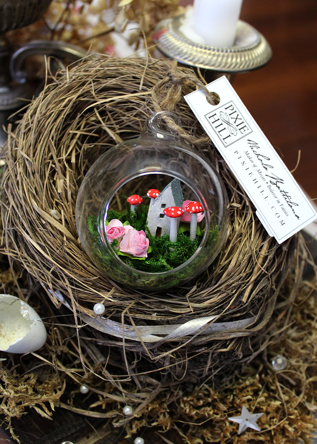Glass Fairy Garden Bauble - Nichola Battilana