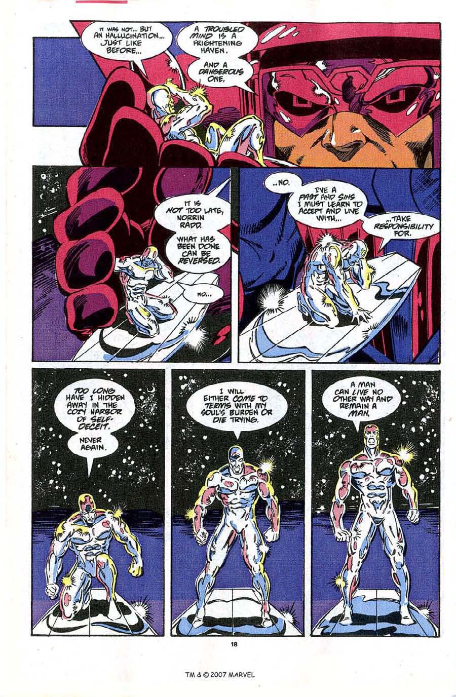 Read online Silver Surfer (1987) comic -  Issue #48 - 20