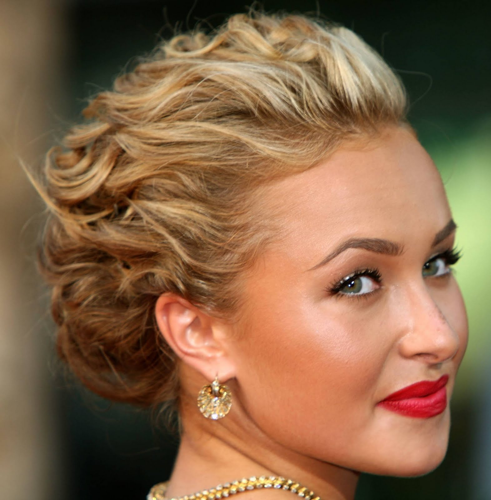 hairstyles popular 2012: Formal Prom Curly Updo Hairstyle ...