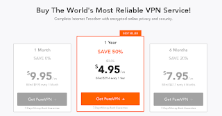 PureVPN Pricing and Plans
