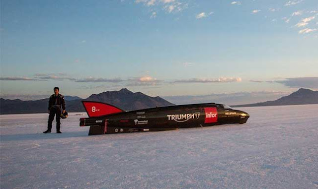 Rekor motor tercepat di dunia