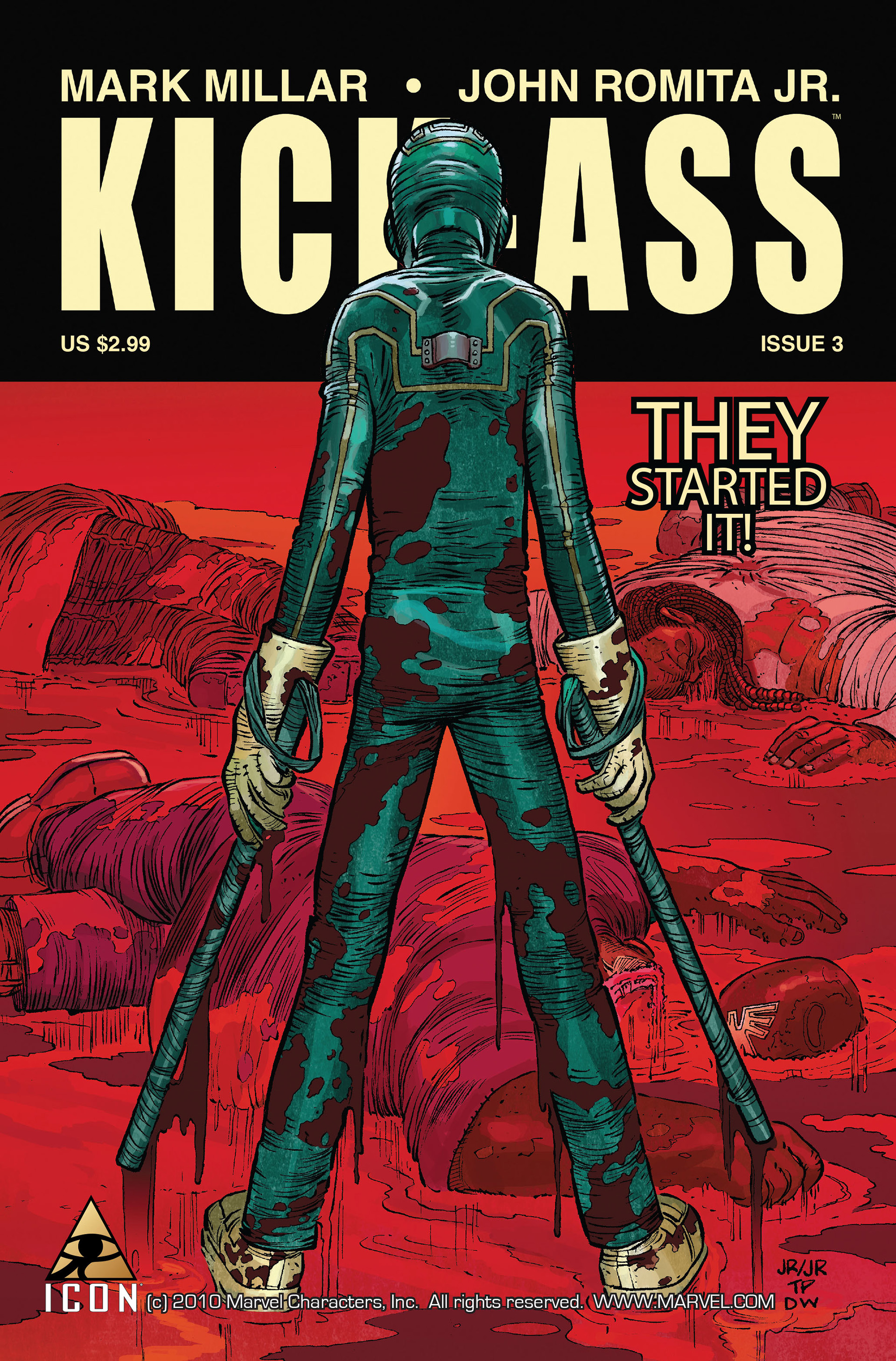 Kick-Ass (2008) issue 3 - Page 1