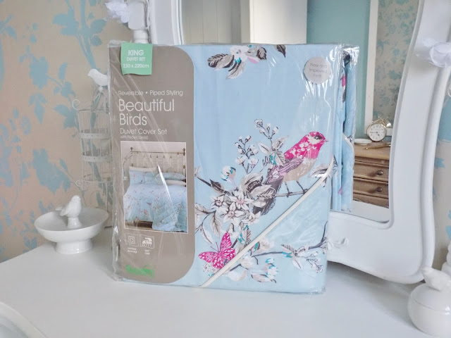 competition win Dunelm beautiful birds bedding