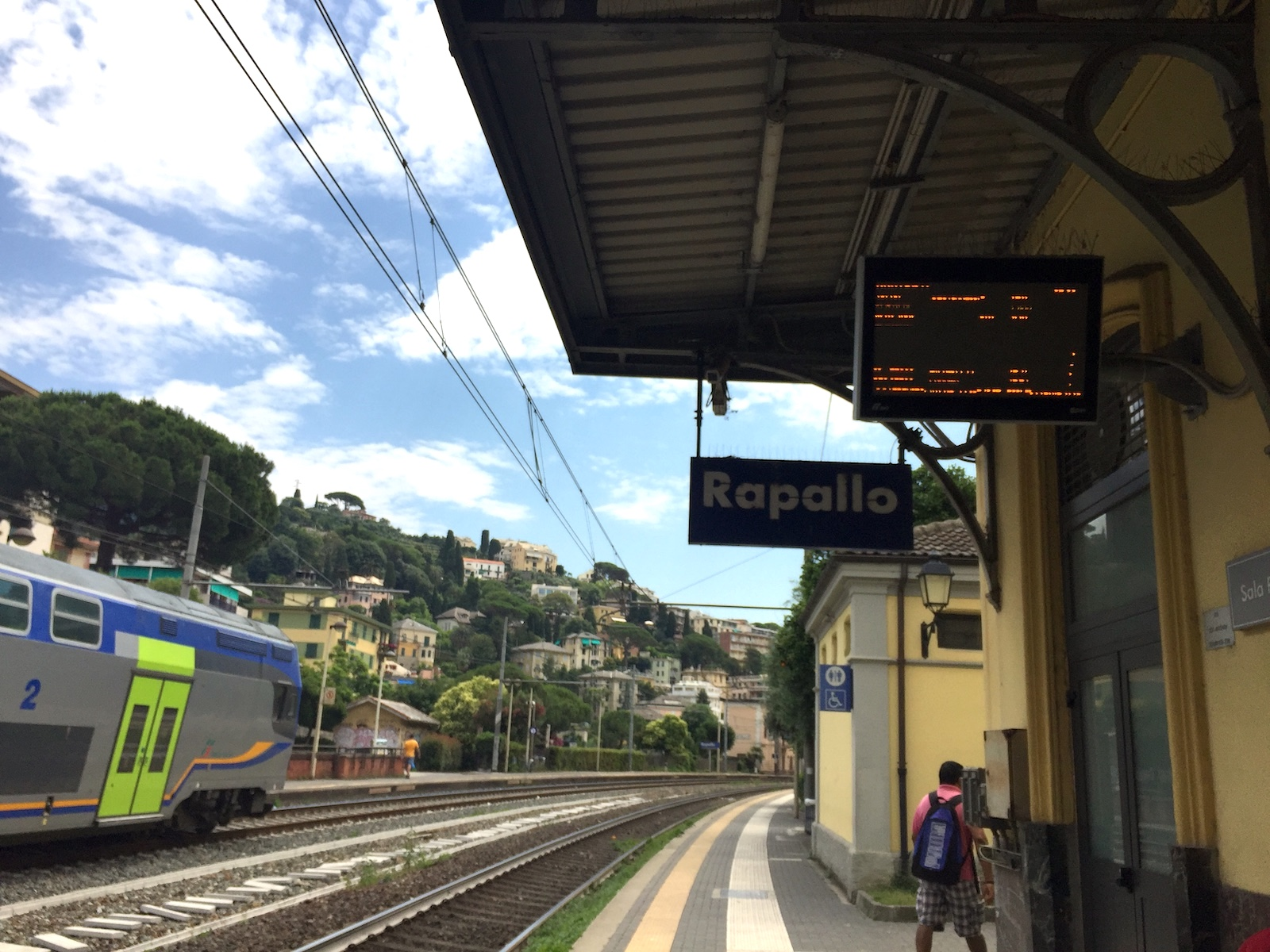 Reaching Rapallo is easy with Train station