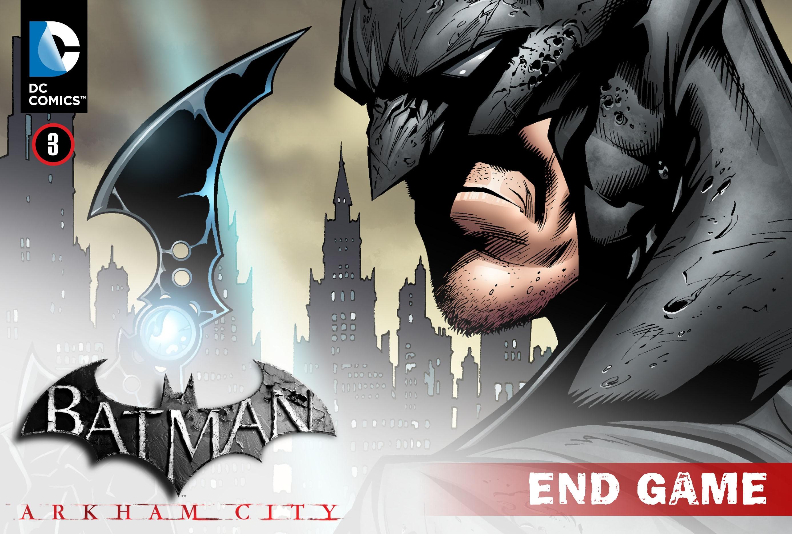 Batman: Arkham City: End Game 3 Page 1