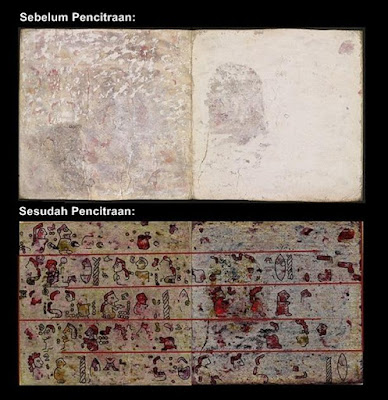 Gambar Tersembunyi di Naskah Kuno Berusia 500 Tahun