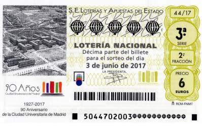 loteria nacional sabado 3 de junio de 2017