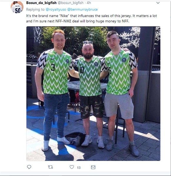 """Nike gave Nigeria """"NFF"""" $1m, made over $300m from Super Eagles Jersey Sales (Nigerians React)"""