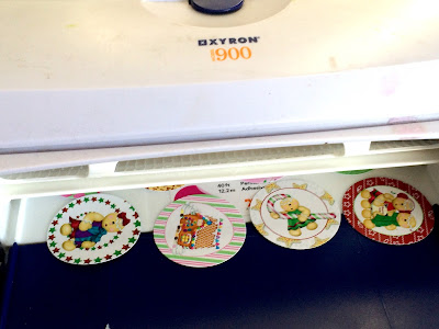 Use a Xyron to make your Own stickers