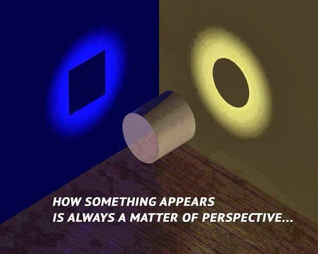 Perspective Optical Illusion