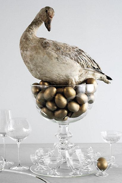 ANTHROPARODIE Golden Goose Eggs
