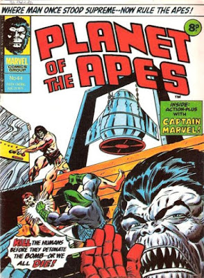 Marvel UK, Planet of the Apes #44