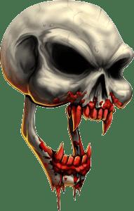 Calavera vampiro