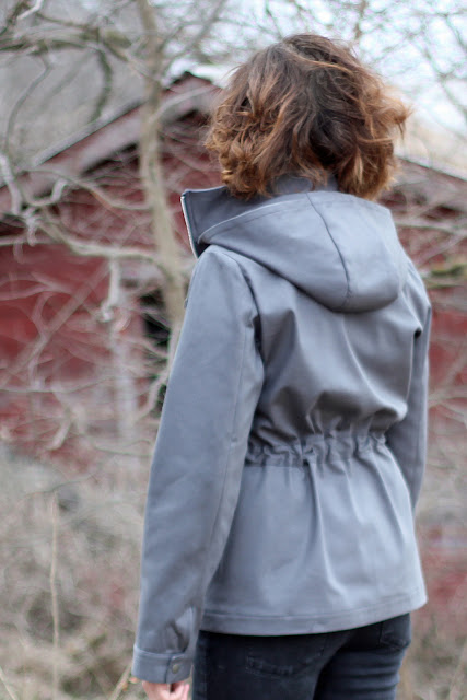 Lonetree jacket back view
